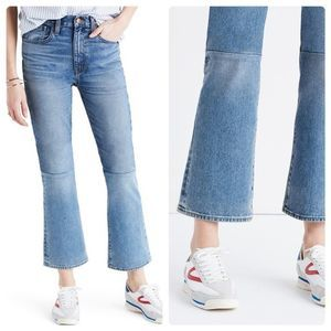 MADEWELL High Rise Retro Crop Bootcut Jean Size 29